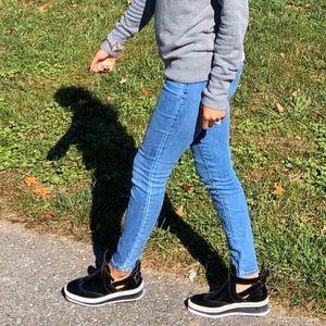 Zara cut out shoes